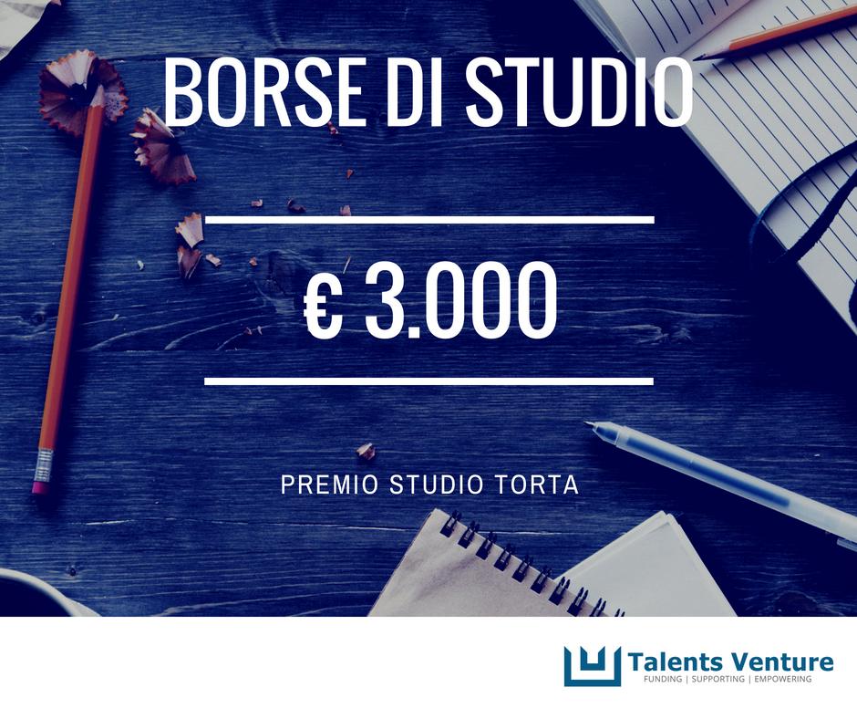 Borsa di Studio Studio Torta