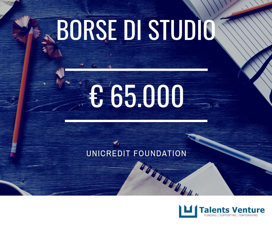 Borsa di studio Unicredit